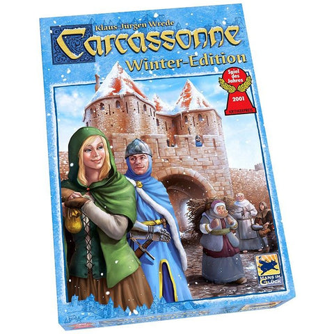 Carcassonne: Winter Edition with The Gingerbread Man Mini Expansion