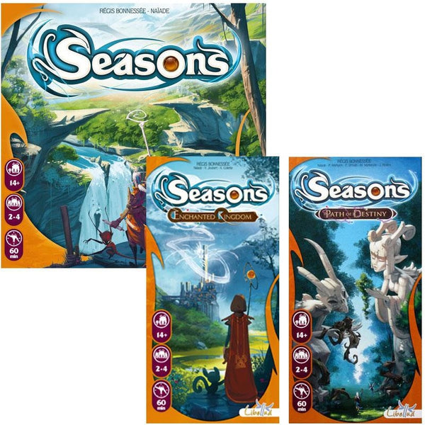 Seasons Bundle: Core Plus Enchanted Kingdom and Path of Destiny Expansions