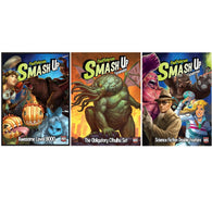 Smash Up Bundle: Awesome Level 9000 / Obligatory Cthulhu / Science Fiction Double Feature Expansions