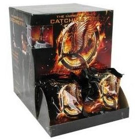 The Hunger Games: Catching Fire Movie Mini Figures 24 Count Gravity Feed Display