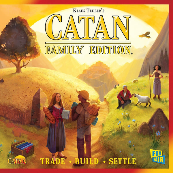 Settlers of Catan: Catan Family Edition Board Game