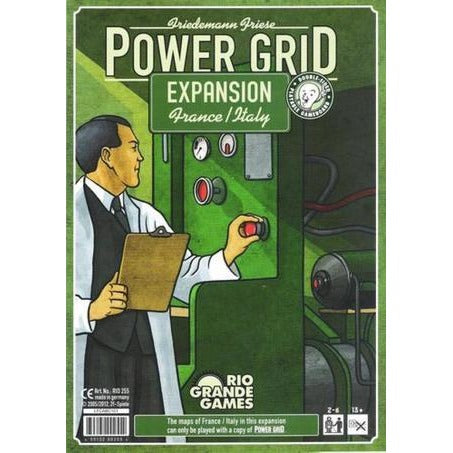 Power Grid: France and Italy Expansion