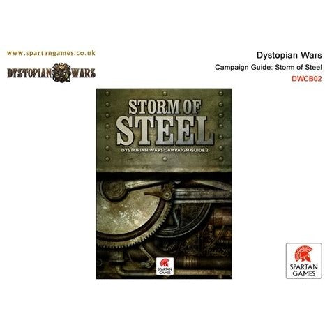 Dystopian Wars: Campaign Book - Storm of Steel