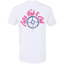 CATCH FISH & CHILL Youth Compass Tee