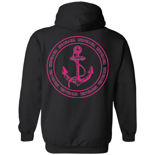 CATCH FISH & CHILL ANCHOR HOODIE