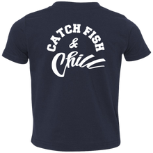 CATCH FISH & CHILL LOGO TODDLER CHILL TEE