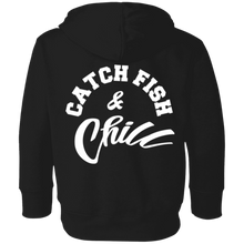 CATCH FISH & CHILL LOGO TODDLER HOODIE