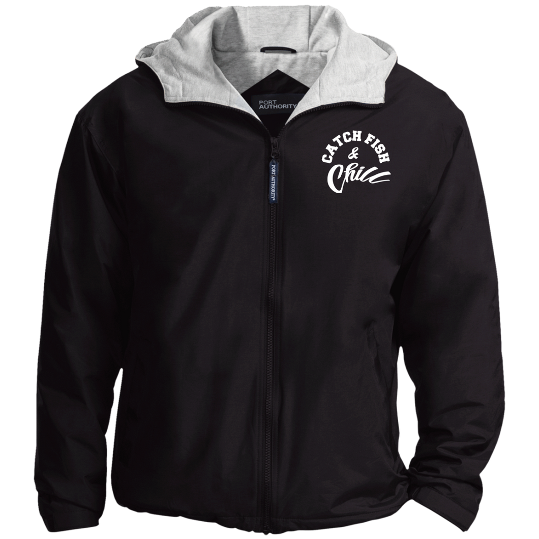 CATCH FISH & CHILL STITCHED CREW Jacket