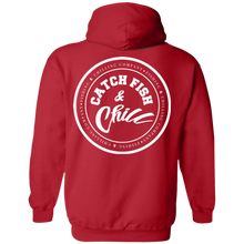 CATCH FISH & CHILL WOMENS CHILL STAMP HOODIE
