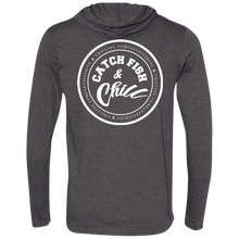 CATCH FISH & CHILL STAMP HOODIE SHIRT