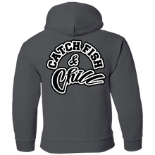 CATCH FISH & CHILL Youth Pullover Hoodie 8 oz.