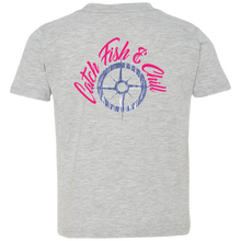CATCH FISH & CHILL COMPASS TODDLER CHILL TEE