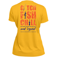 CATCH FISH & CHILL & REPEAT PERFORMANCE TEE