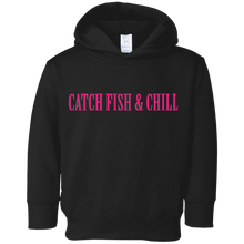 CATCH FISH & CHILLING ANCHOR TODDLER HOODIE