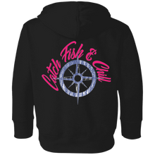 CATCH FISH & CHILL COMPASS TODDLER HOODIE
