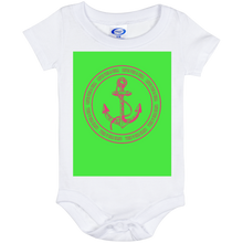 CATCH FISH & CHILL ANCHOR Baby Onesie 6 Month