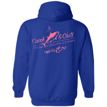 CATCH FISH & CHILL VINTAGE TUNA HOODIE