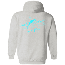 CATCH FISH & CHILL WOMENS VINTAGE TUNA HOODIE