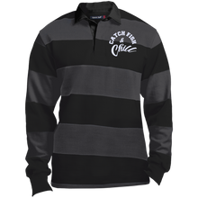 CATCH FISH &  CHILL-Tek LS Rugby Polo