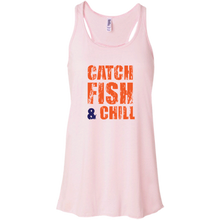 CATCH FISH CHILL & REPEAT RACER TANK