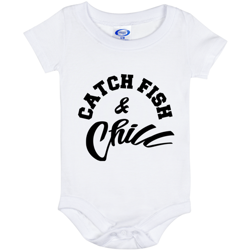 CATCH FISH & CHILL Baby Onesie 6/12 Month