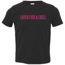 CATCH FISH & CHILLING ANCHOR TODDLER CHILL TEE