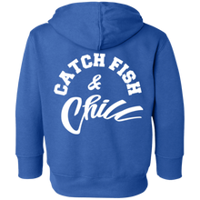 CATCH FISH & CHILL TODDLER HOODIE