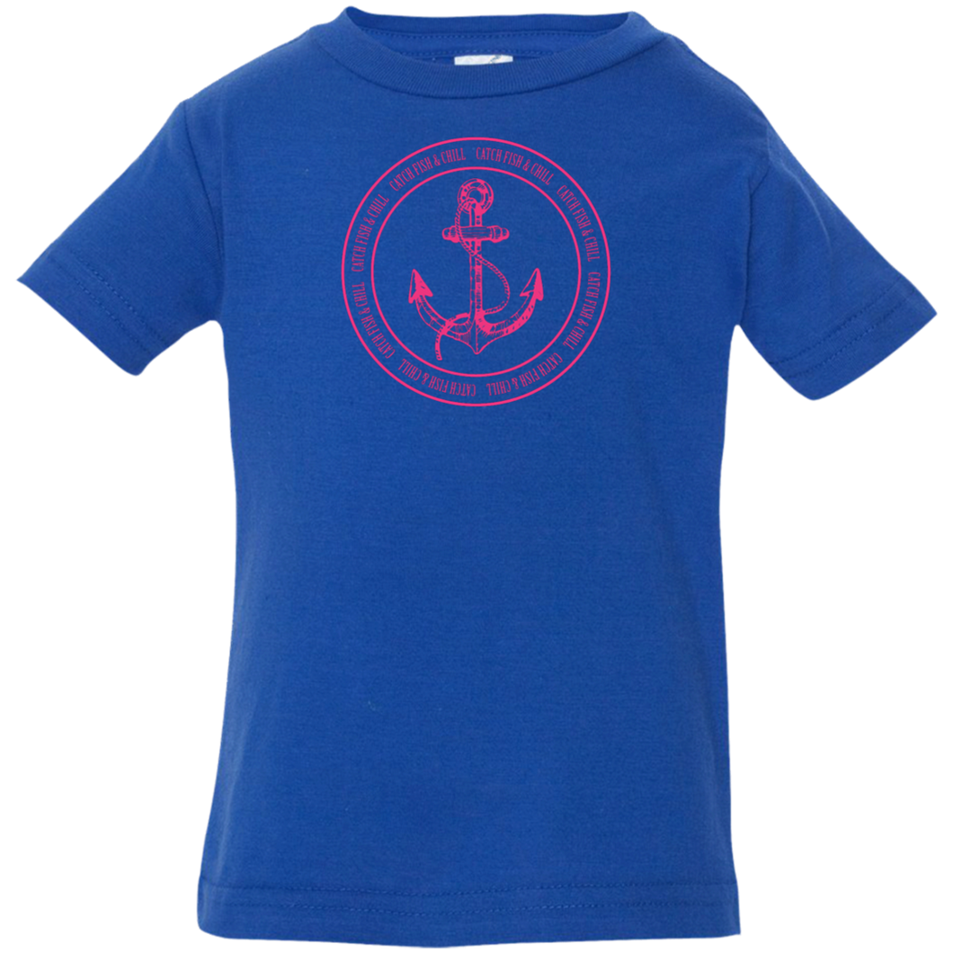 CATCH FISH & CHILL ANCHOR Baby Chill Tee