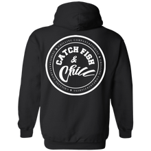 CATCH FISH & CHILL STAMPS HOODIE