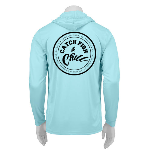 CATCH FISH & CHILL PERFORMANCE HOODIE