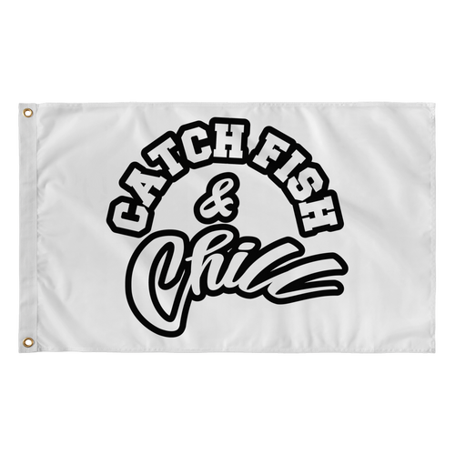 CATCH FISH & CHILL FLAG