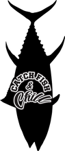 CATCH FISH & CHILL BFT TRANSFER STICKER