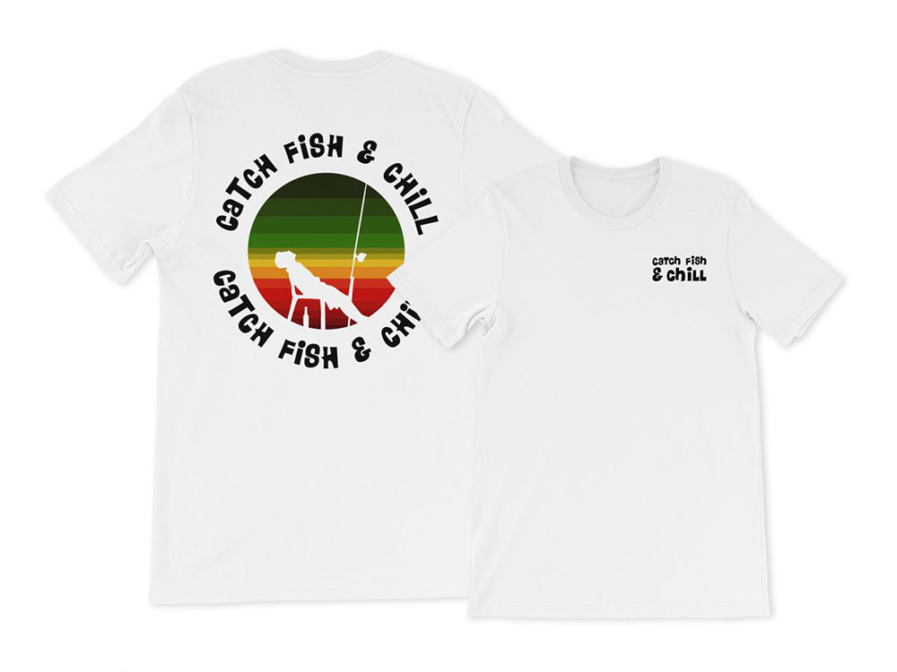 CATCH FISH & CHILL RASTA SUNSET TEE