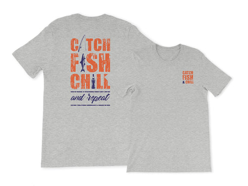 CATCH FISH & CHILL® AND REPEAT TEE
