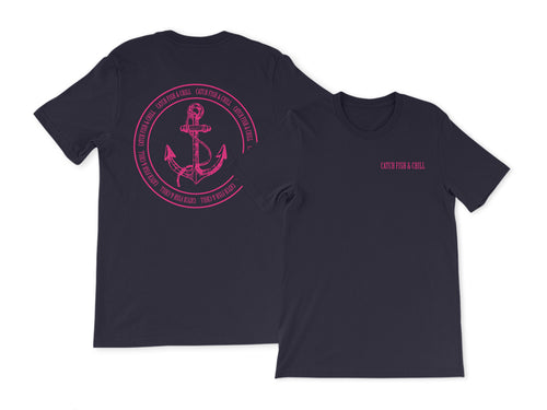 CATCH FISH & CHILL ANCHOR TEE