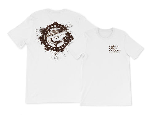 CATCH FISH & CHILL COBIA OPEN SEASON SPLASH TEE
