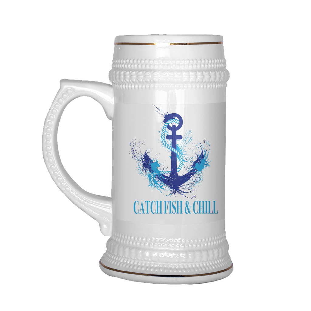 CATCH FISH & CHILL® SPLASH ANCHOR MUG