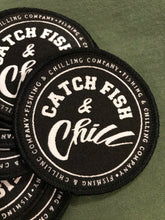 CATCH FISH & CHILL STAMP PATCH