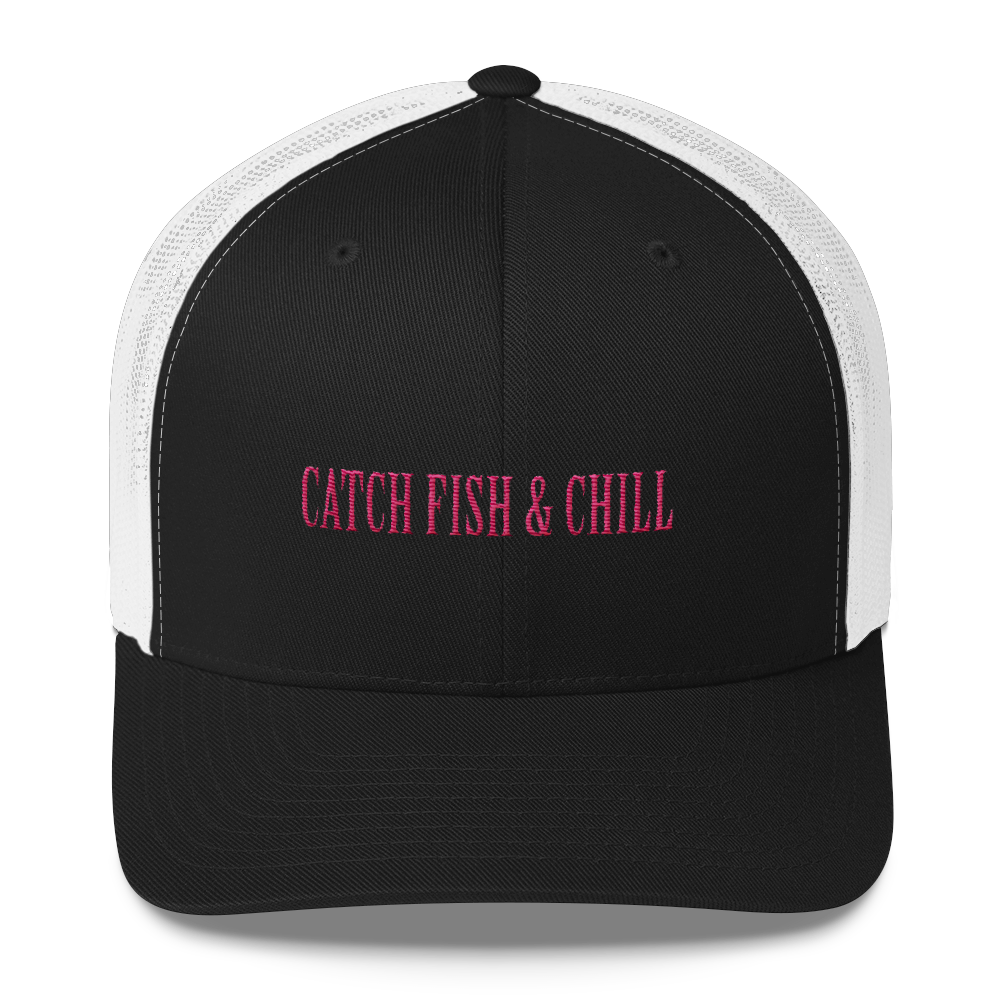 CATCH FISH & CHILL ANCHOR TRUCKER HAT