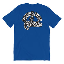 CATCH FISH & CHILL OUT TEE