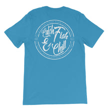 CATCH FISH & CHILL VINTAGE STAMP TEE