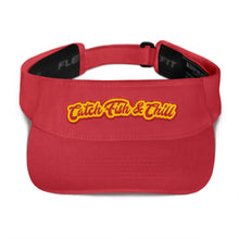 CATCH FISH & CHILL CHILLI FLEXFIT VISOR
