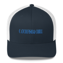 CATCH FISH & CHILL SPLASH ANCHOR TRUCKER HAT