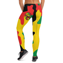 CF&C LADIES RASTA CAMO LEGGINGS