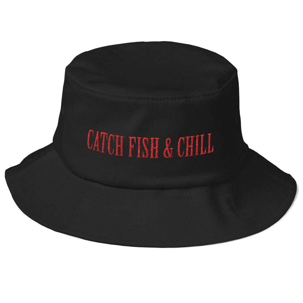 CATCH FISH & CHILLING LUCKY FISHING HAT
