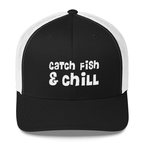 CATCH FISH & CHILL RASTA TRUCKER HAT