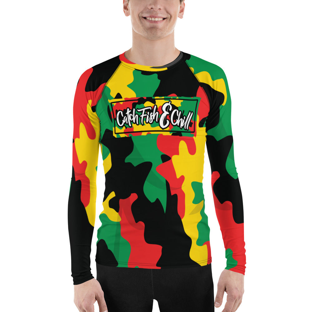 RASTA BOX CAMO PERFORMANCE LONG SLEEVE