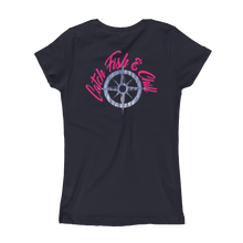 CATCH FISH & CHILL PRINCESS COMPASS TEE