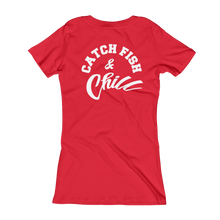 CATCH FISH & CHILL WOMENS V TEE