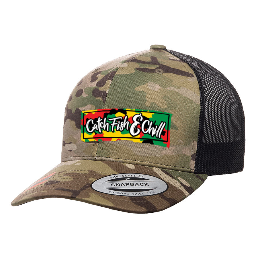 CF&C RASTABOX MULTICAM HAT
